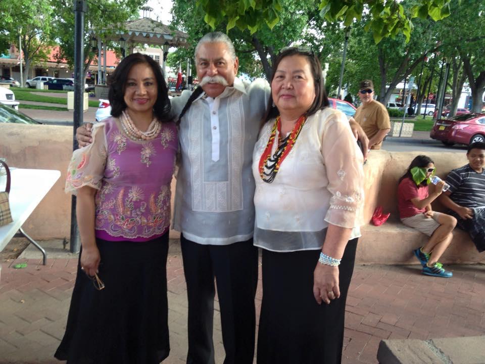 Myrna Samson (right) is 2020 FAFNM President