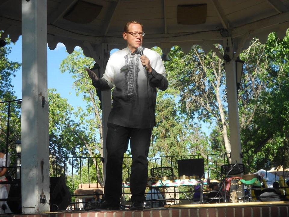 NM State Auditor Brian Colon, speaker at Santacruzan 2019